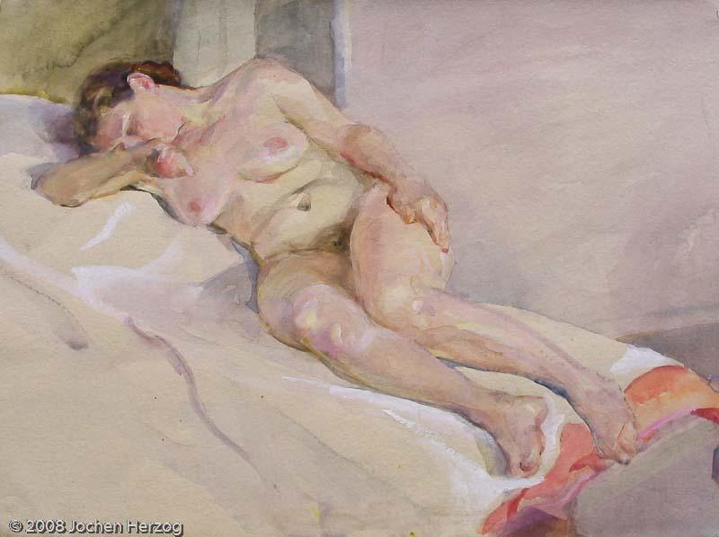 Andreas Bach - J690 - Weiblicher Akt