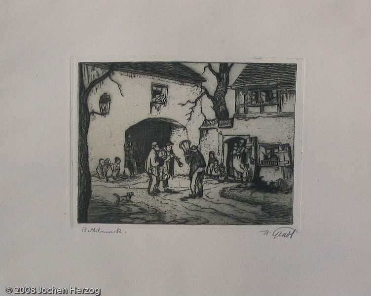 Hermann Gradl - KNV - Bettelmusik
