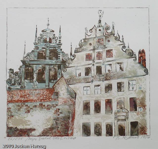 Brigitta Heyduck - J1016 - Nürnberger Giebel