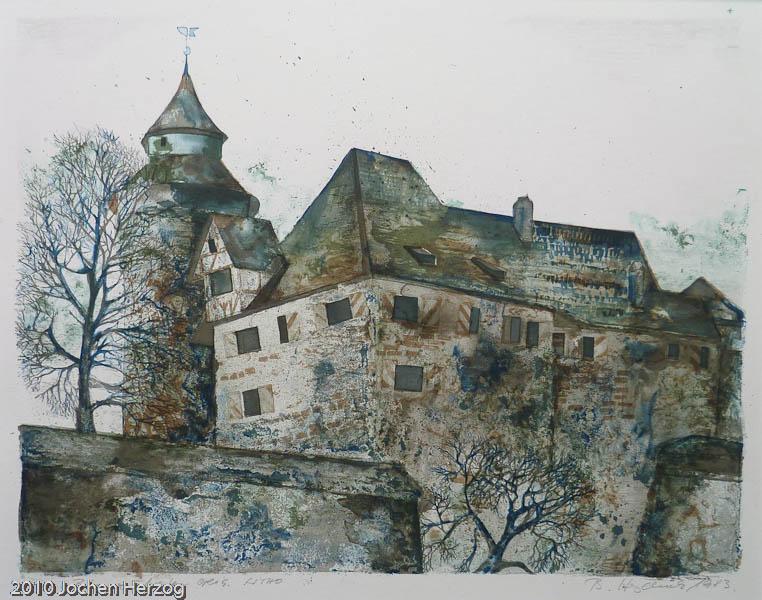 Brigitta Heyduck - J1020 - Burg vom Westen