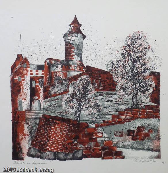 Brigitta Heyduck - J1210 - Nürnberger Burg