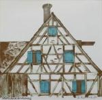Brigitta Heyduck - J1017 - Fränkisches Bauernhaus