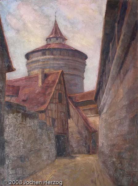 Carl Kellner - J682 - Der dicke Turm