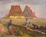 Hans Oertle - J692 - Bauernhaus