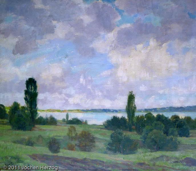 Karl Roeger - J286 - Landschaft am Ammersee