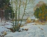 Karl Roeger - J1124 - Fränkische Winterlandschaft