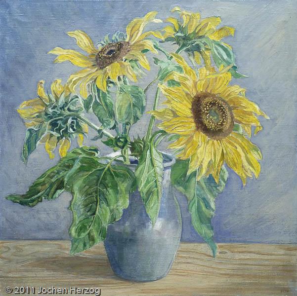Hermann Thomas Schmidt - J482 - Sonnenblumen