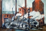 Hans Bayerlein - J860 - Nach Fabrikbrand