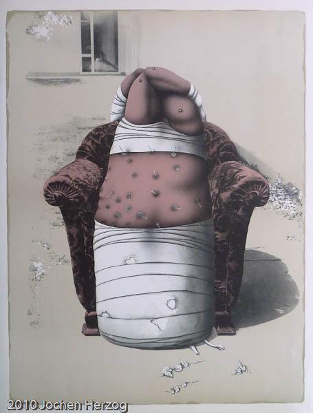 Günter Dollhopf - J1205 - Figur im Sessel